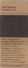 Olejek eukaliptusowy - Apivita Aromatherapy Organic Eucalyptus Oil  — фото N3