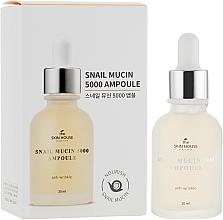 Kup Przeciwzmarszczkowa ampułka do twarzy z mucyną ślimaka i kolagenem - The Skin House Snail Mucin 5000 Ampoule