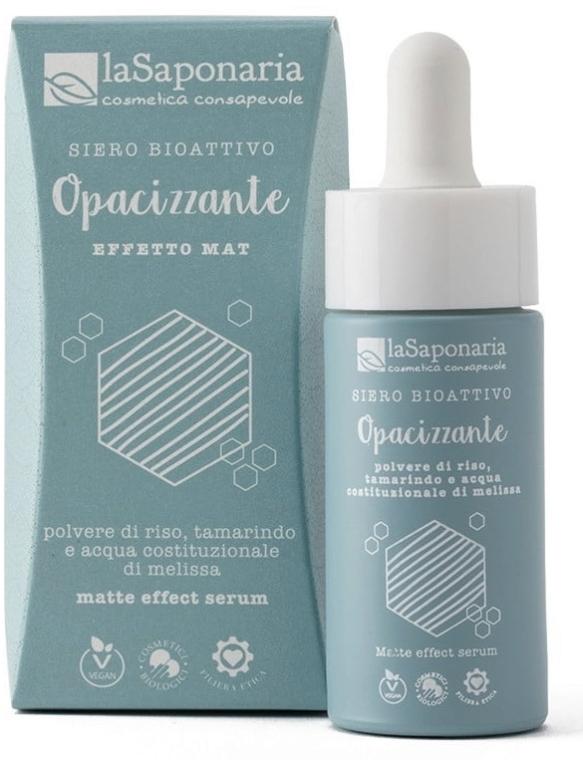 Matujące bioaktywne serum do twarzy - La Saponaria Matte Effect Serum  — фото N1