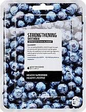 Kup Maska do twarzy na tkaninie Borówka - Superfood For Skin Strengthening Sheet Mask