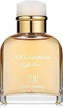 Dolce & Gabbana Light Blue Sun Pour Homme - Woda toaletowa — фото N2
