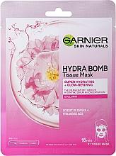 Kup Nawilżająca maska w płachcie - Garnier Moisture Bomb Sakura Hydrating Face Sheet Mask