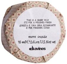 Wosk nawilżająco-wygładzający do włosów - Davines More Inside This Is A Shine Wax — фото N2