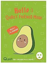 Kup Odżywcza maseczka, Awokado - Quret Hello Avocado Friends Mask