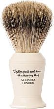 Kup Pędzel do golenia, P376 - Taylor of Old Bond Street Shaving Brush Pure Badger size L