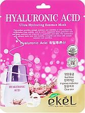 Kup Maska na tkaninie do twarzy z kwasem hialuronowym - Ekel Hyaluronic Acid Ultra Hydrating Essence Mask