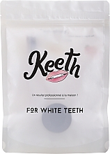 Kup Zestaw - Keeth Mint Charcoal Kit (toothbrush/1pc + toothpowder/15g + pack)