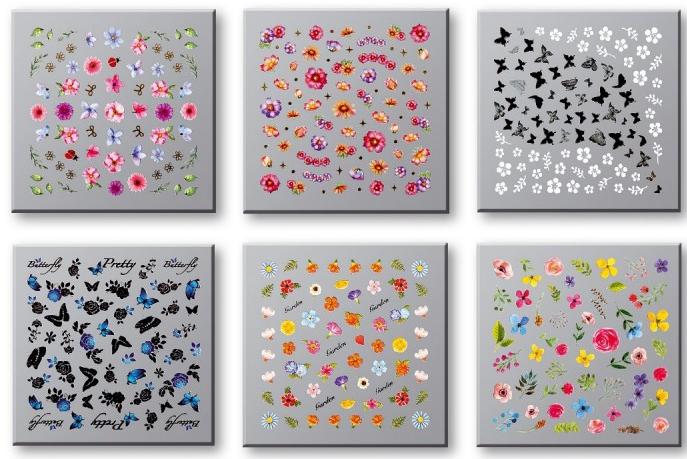 Zestaw naklejek do paznokci 42751 - Top Choice Nail Decorations Stickers Set — фото N1