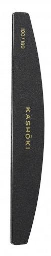 Dwustronny pilnik do paznokci, półksiężyc 100/180 - Kashoki