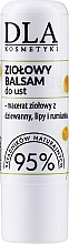 Kup Ziołowy balsam do ust z masłem shea - DLA