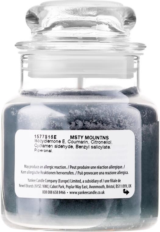 Świeca zapachowa w słoiku - Yankee Candle Misty Mountains — фото N2