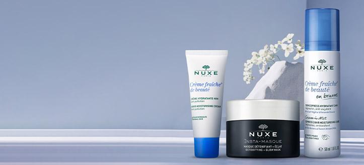 Odbierz w prezencie nawilżający krem do twarzy, przy zakupie produktów NUXE za min. 100 zł