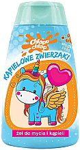 Kup Żel do mycia ciała dla dzieci Kąpielowe zwierzaki, słodka cola - Chlapu Chlap Bath & Shower Gel