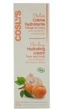 Kup Nawilżający krem do twarzy i ciała dla dzieci z organiczną morelą - Coslys Baby Care Baby Hydrating Creamwith Organic Apricot Oil