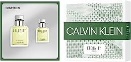 Calvin Klein Eternity For Men - Zestaw (edt 100 ml + edt 30 ml) — фото N2