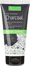 Kup Detoksykujący żel do mycia twarzy z węglem aktywnym - Beauty Formulas Charcoal Detox Cleanser