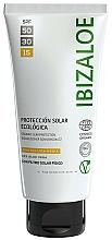 Kup Masło do ciała do opalania - Ibizaloe Organic Sun Protection SPF 15