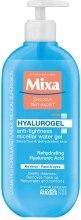 Kup Żel micelarny zmniejszający uczucie ściągnięcia do skóry wrażliwej i odwodnionej - Mixa Hyalurogel Micellar Water Gel For Sensitive & Dehydrated Skin