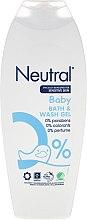 Kup Neutralny żel do kąpieli dla dzieci - Neutral 0% Baby Bath & Wash Gel