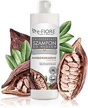 Kup Zmiękczający szampon do włosów pozbawionych blasku Masło kakaowe + mocznik - E-Fiore