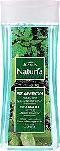 Kup Szampon do włosów przetłuszczających się i normalnych Pokrzywa i zielona herbata - Joanna Naturia