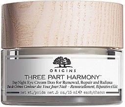 Kup Krem na dzień i na noc do skórę wokół oczu - Origins Three Part Harmony Day and Night Eye Cream Duo