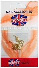 Kup Łańcuszek do zdobienia paznokci, 00375, złoty - Ronney Professional