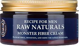 Kup Nabłyszczający krem do stylizacji włosów dla mężczyzn - Recipe For Men RAW Naturals Monster Fiber Cream