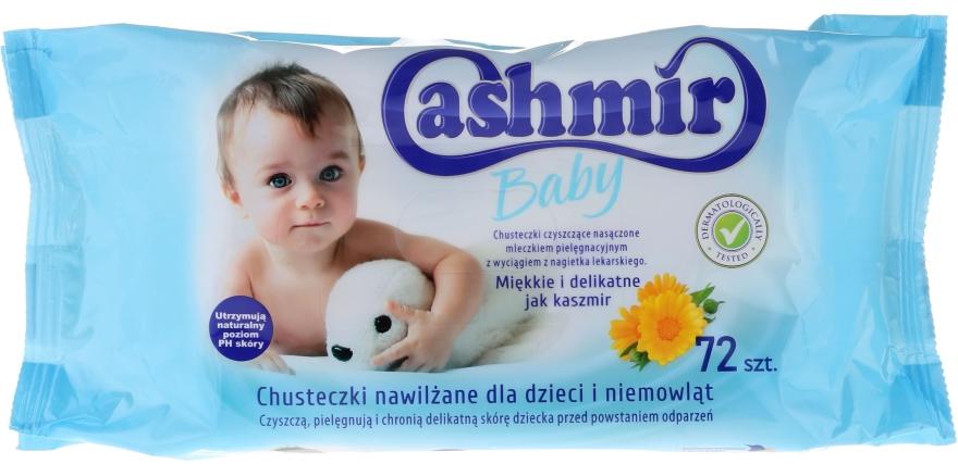 Chusteczki nawilżane dla dzieci, 72 szt. - Cashmir Baby Wet Wipes