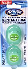 Kup Zestaw nici dentystycznych, miętowych, woskowanych, 12 m - Beauty Formulas Active Oral Care Dental Floss