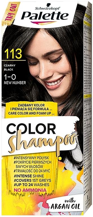 Szampon koloryzujący - Schwarzkopf Palette Color Shampoo