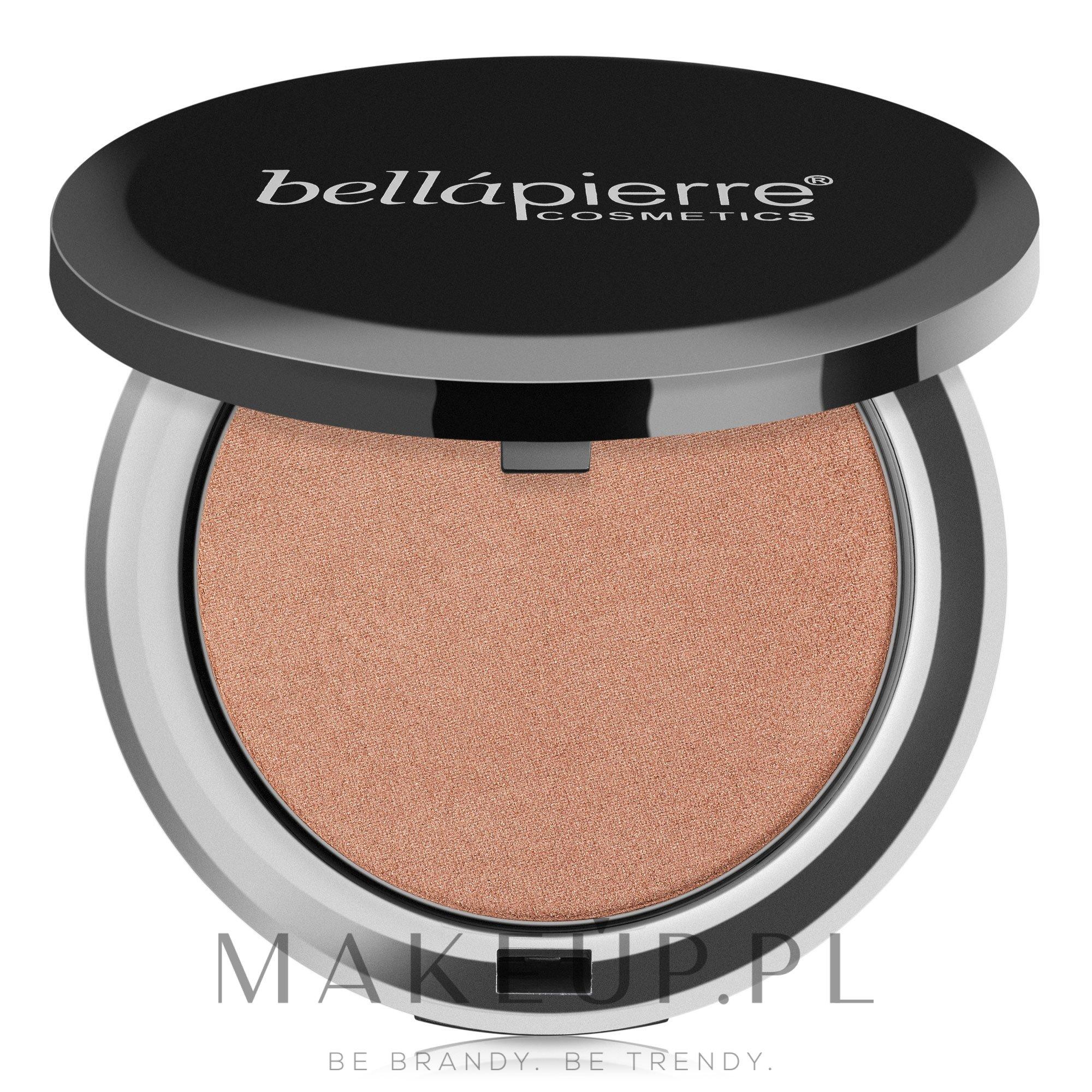 Mineralny bronzer w kompakcie - Bellapierre Cosmetics Compact Mineral Bronzer — фото Peony