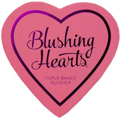 Wypiekany róż do policzków - I Heart Revolution Blushing Hearts Blusher