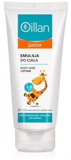 Emulsja do ciała - Oillan Junior Body Care Lotion — фото N1