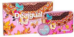 Kup Desigual Fresh World - Zestaw (edt 100 ml + bag)