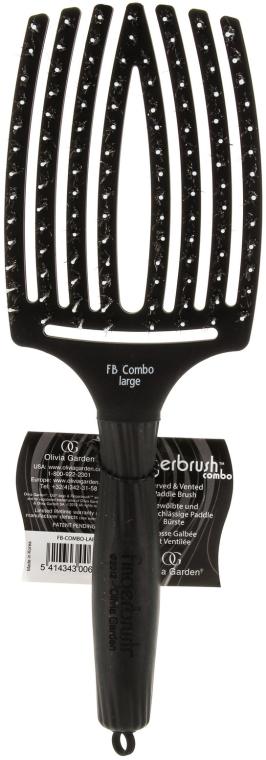 Szczotka do rozczesywania i masażu - Olivia Garden Finger Brush Combo Large