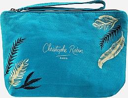 Kup Zestaw - Christophe Robin Purifying Travel Kit (shm/75ml + cr/20.7ml + scr/40ml + bag)