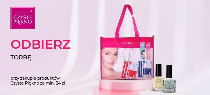 Kup produkty marki Czyste Piękno za min. 24 zł, a torbę otrzymasz w prezencie.