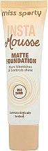 Kup Matujący podkład do twarzy - Miss Sporty Insta Mousse Matte Foundation