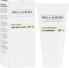 Kup Przeciwpigmentacyjny krem do rąk SPF 15 - Bella Aurora M7 Anti-Dark Spots Hand Cream