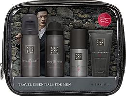 Kup Zestaw - Rituals The Ritual of Samurai Essentials Travel Set (foam/gel/50ml + sh/foam/50ml + cr/30ml + deo/50ml + bag)