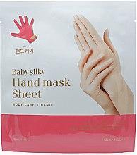 Kup Maska na tkaninie do rąk - Holika Holika Baby Silky Hand Mask Sheet