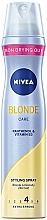 Kup Lakier do włosów - Nivea Blonde Care Styling Spray