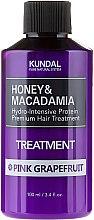 Kup Intensywnie nawilżająca kuracja proteinowa do włosów Różowy grejpfrut - Kundal Honey & Macadamia Treatment Pink Grapefruit
