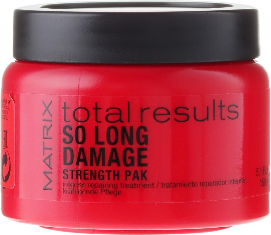 Intensywnie odbudowująca maska do włosów zniszczonych - Matrix Total Results So Long Damage Mask
