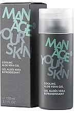 Kup Chłodzący żel aloesowy do twarzy - Dr. Spiller Manage Your Skin Cooling Aloe Vera Gel