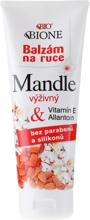 Balsam do rąk z olejem ze słodkich migdałów - Bione Cosmetics Mandle Hand Cream