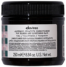 Kup Odżywka do kreatywnej koloryzacji (morski) - Davines Alchemic Creative Conditioner Teal