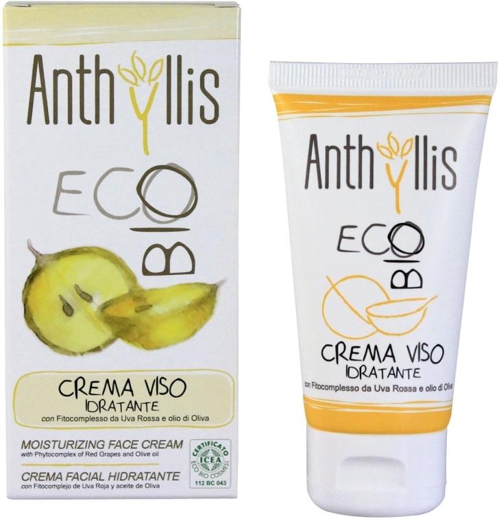 Nawilżający krem do twarzy - Anthyllis Moisturizing Face Cream — фото N1