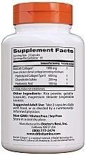 Kwas hialuronowy z siarczanem chondroityny i kolagenem na zdrowe stawy - Doctor's Best Hyaluronic Acid with Chondroitin Sulfate Capsules — фото N7